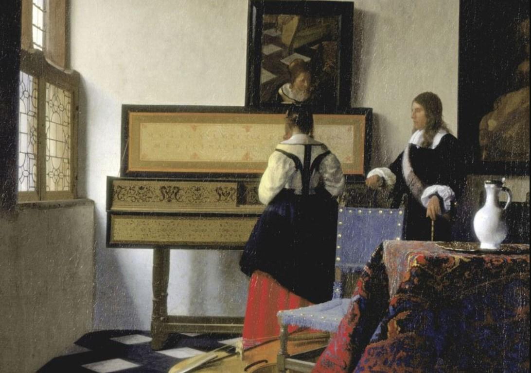 Любимая картина Елизаветы II впервые за 200 лет покинет парадный зал Букингемского дворца