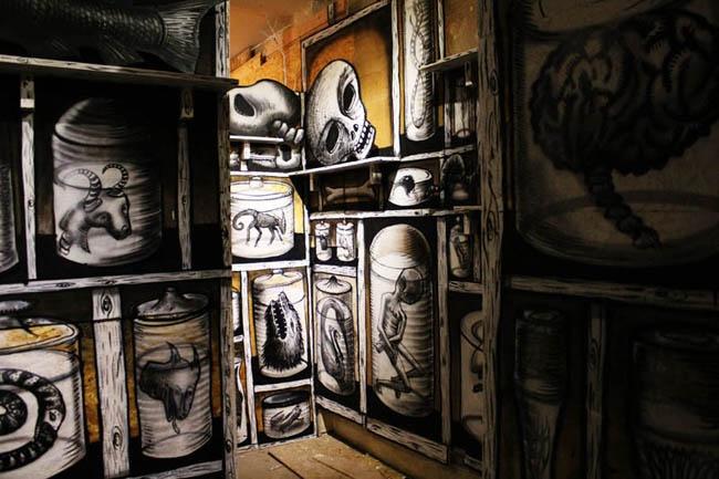 Разрушая искусство - часть 2: эфемерный бестиарий отправится в небытие