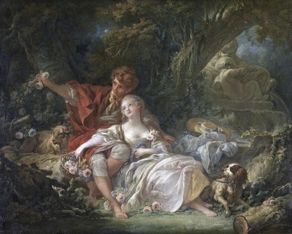 Галантно и пикантно: картины от Ватто до Фрагонара в парижском музее