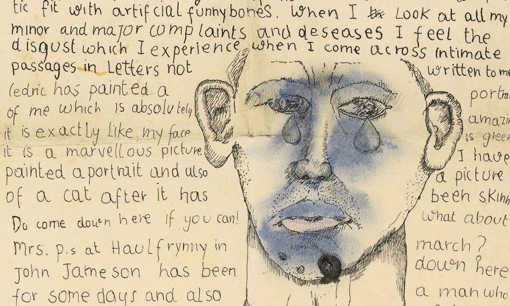 Письма нежному другу: чувственные послания юного Люсьена Фрейда писателю Стивену Спендеру уйдут с молотка