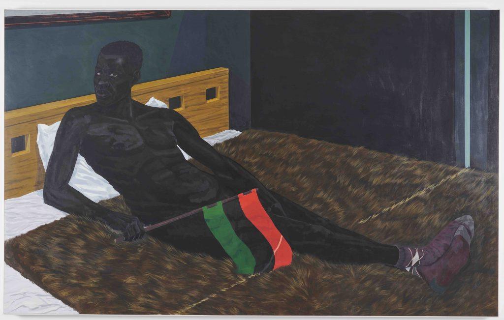 Керри Джеймс Маршалл,«Без названия» (2012). Коллекция Франсуа Пино