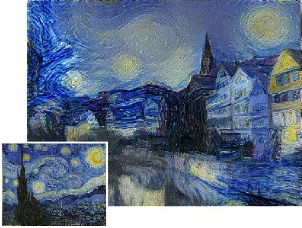 Новый алгоритм обрабатывает фотографии в стиле любого художника – хоть Ван Гога, хоть Пикассо