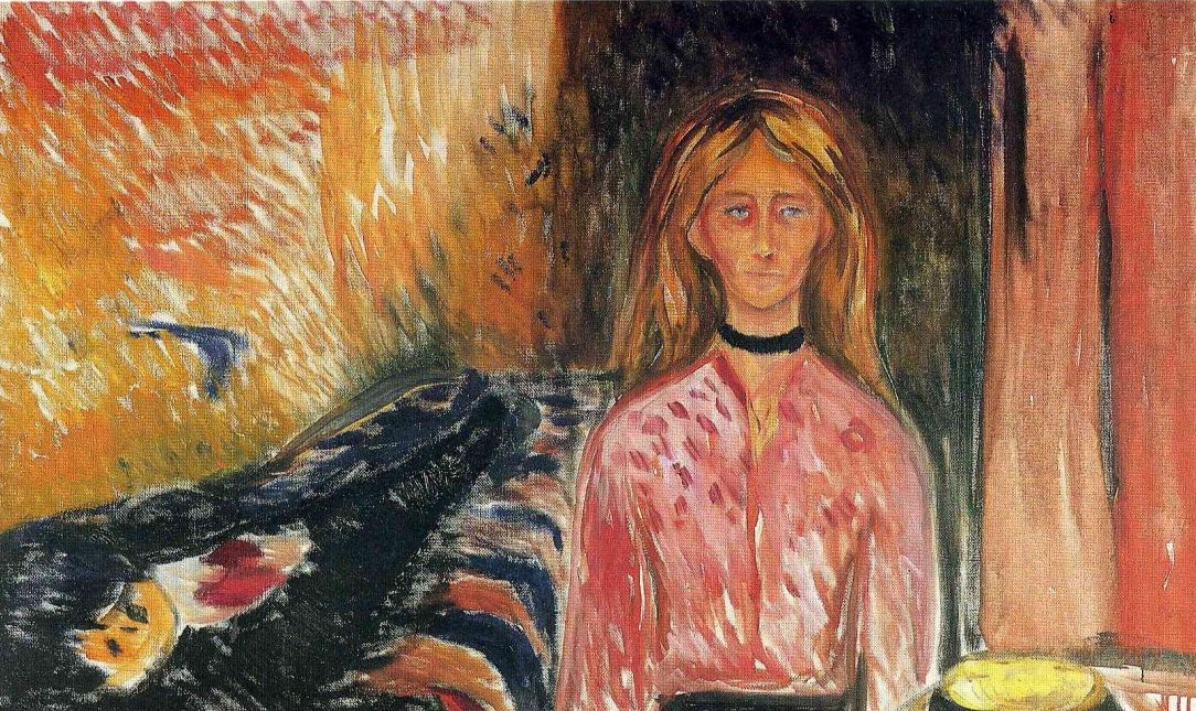 Love story in paintings: Edvard Munch and Tulla Larsen
