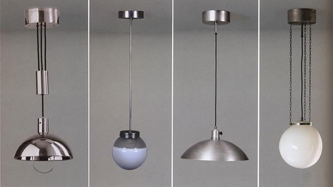 Коллекция светильников Марианны Брандт. 1926