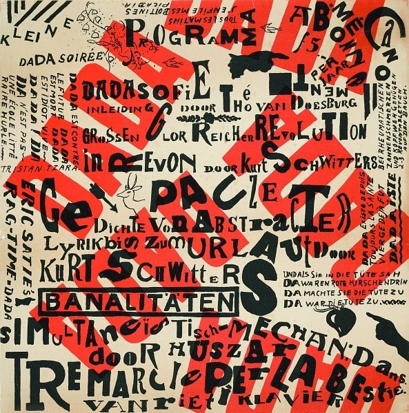 Dadaism as a reaction to the brutality of the First World War