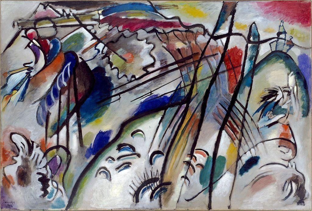 Беспредметное искусство: музей Гуггенхайма в Нью-Йорке открыл новую экспозицию работ Василия Кандинского