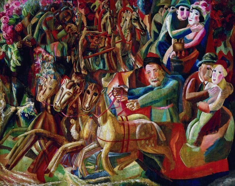«Очевидец незримого»: большая ретроспектива Павла Филонова в Малаге