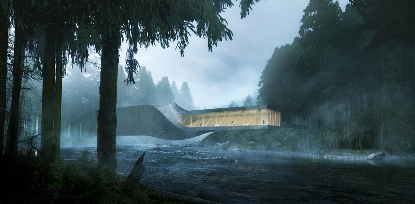 Внешний вид иинтерьеры галереи «Твист». Источник: kistefosmuseum.com