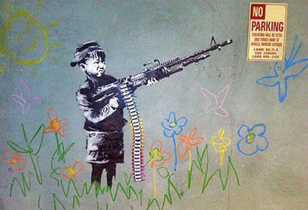 Child Soldier, 2011. Los Angeles, USA