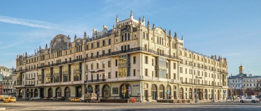 Metropol Hotel. Moscow, 1899—1905. Philanthropist Savva Mamontov was the initiator of the constructi