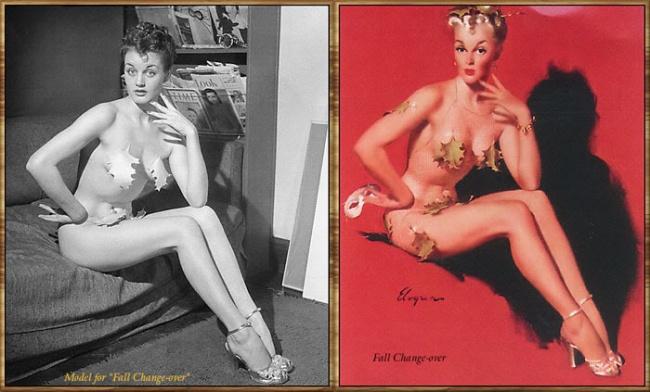 Пин-ап: «пришпиленная» кокетка,  или как американские художники создавали каноны женской красоты (ч.1)