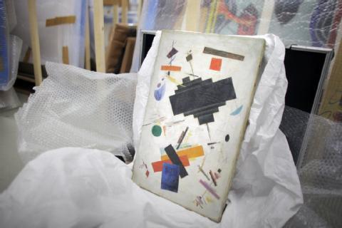 В Висбадене начался суд над подозреваемыми в подделке картин русских авангардистов