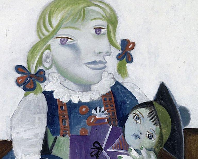 «Мой отец Пикассо»: дочь рассказала, как позировала в розовых пинетках