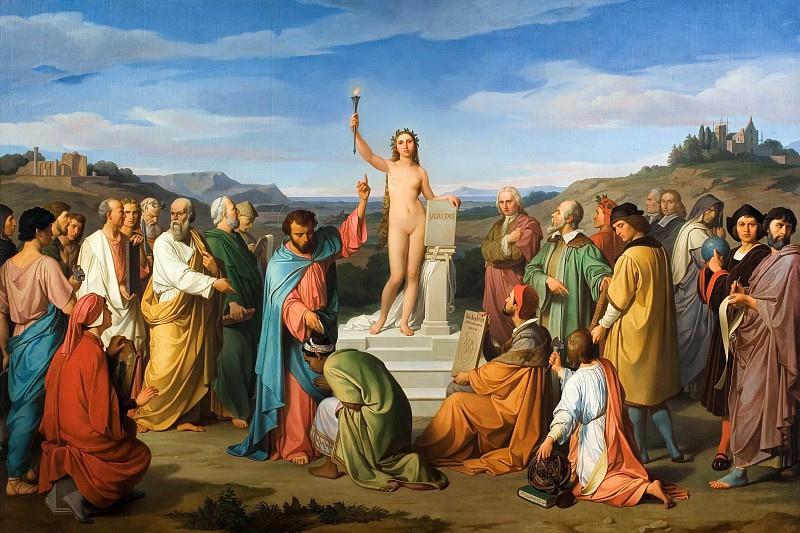 Luigi Mussini, The Triumph of Truth, 1847