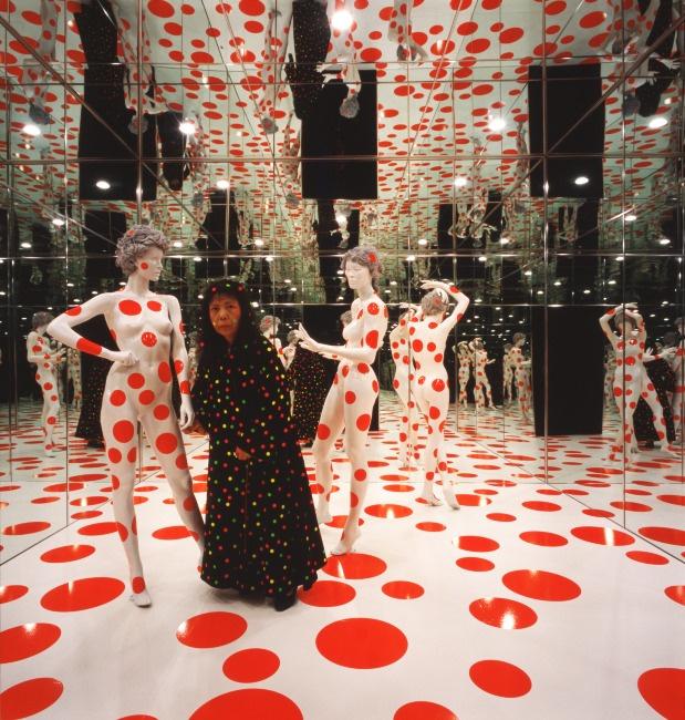 Яёи Кусама. «Повторяющееся видение». 1996. Фото: Mattress Factory