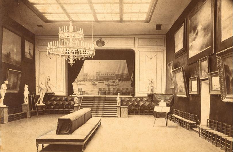 Картинная галерея Айвазовского. Фото 1900-х гг.