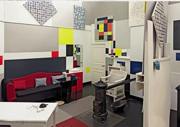 Пит Мондриан: квадратные окна в цветные миры – на выставках в Англии