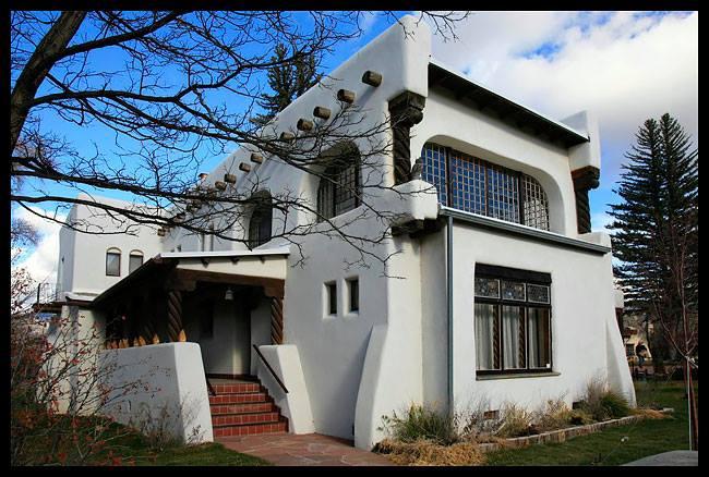 Таос, Нью-Мексико, США. Дом Николая Фешина: интерьеры, подлинные картины, фотографии… Источник фото
