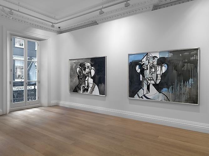 Чтоб два раза не вставать: двойная выставка Джорджа Кондо в Лондоне