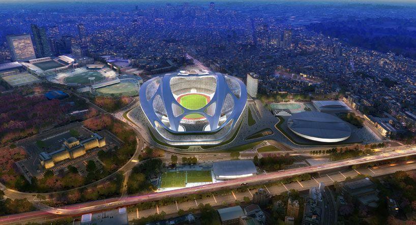 Заха Хадид намерена вернуть себе проект строительства Олимпийского стадиона в Токио