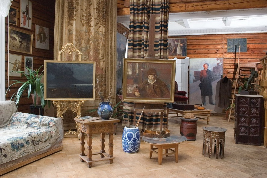 Художники и виллы (ч.3) – уютные сельские виды: Поленово и Репинские «Пенаты»