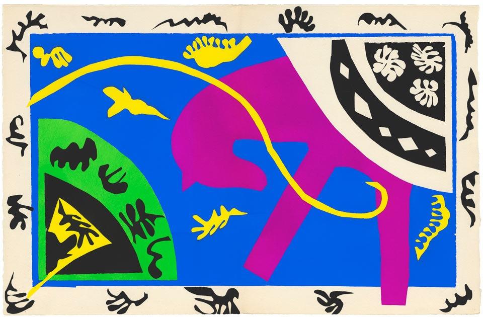 Аппликации Матисса: самая посещаемая выставка в истории лондонской Tate -  теперь в Нью-Йорке