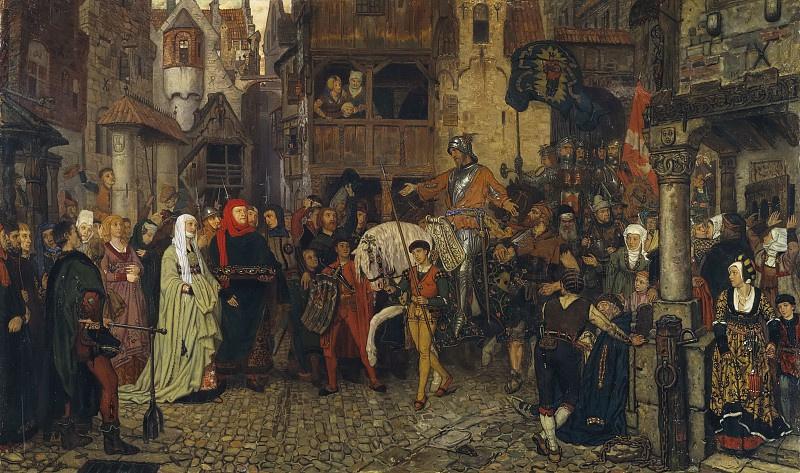 Johan Georg Otto von Rosen, The Entry of Sten Sture the Elder into Stockholm, 1864