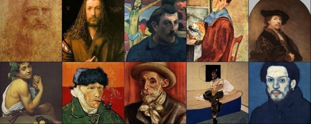 Know yourself: 10 famous self portraits