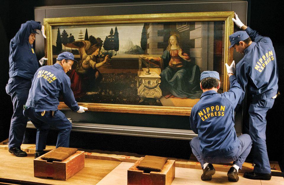 Италия не даст Лувру работы Леонардо да Винчи для юбилейного показа