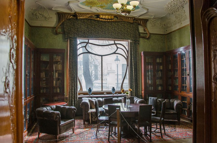 The Gorky memorial library in the Ryabushinsky mansion. Photo source: museum.imli.ru