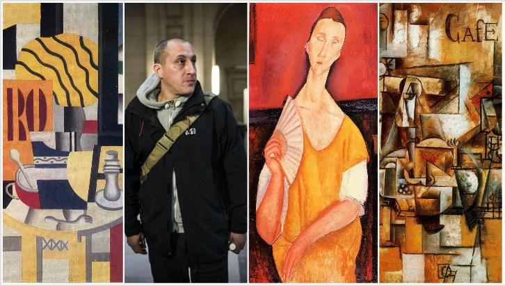 A burglar has liked the Modigliani. 'Spiderman' sentenced for a €100-million art theft in Paris