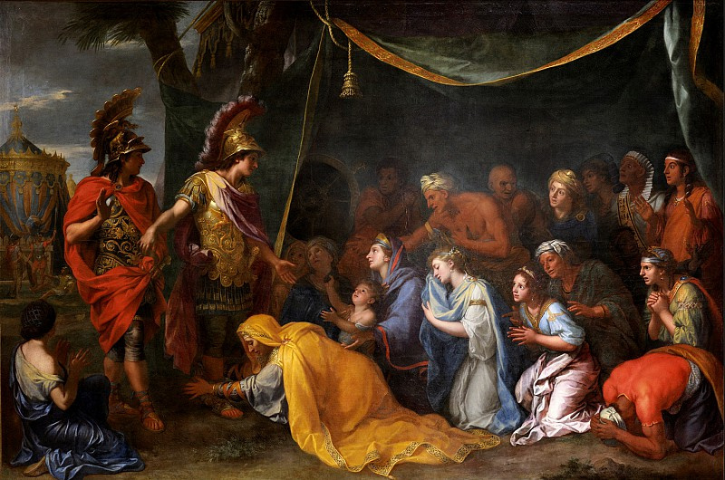 Charles Lebrun. The Tent of Darius (The Queen of Persia at the Feet of Alexander the Great), 1680