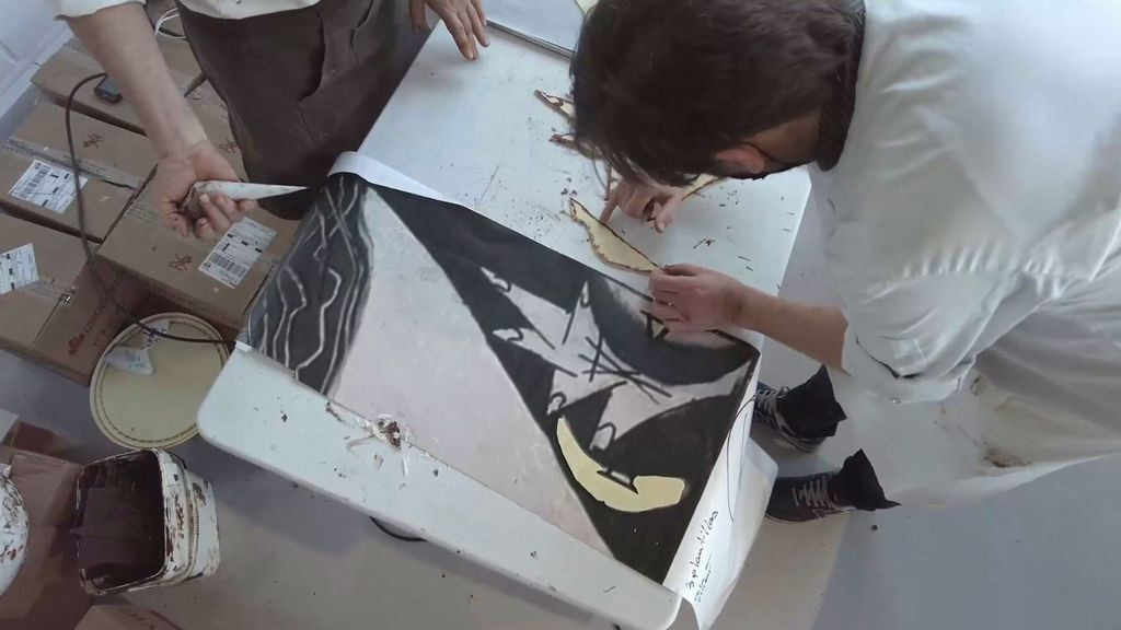 Культовую «Гернику» Пикассо воссоздали из шоколада