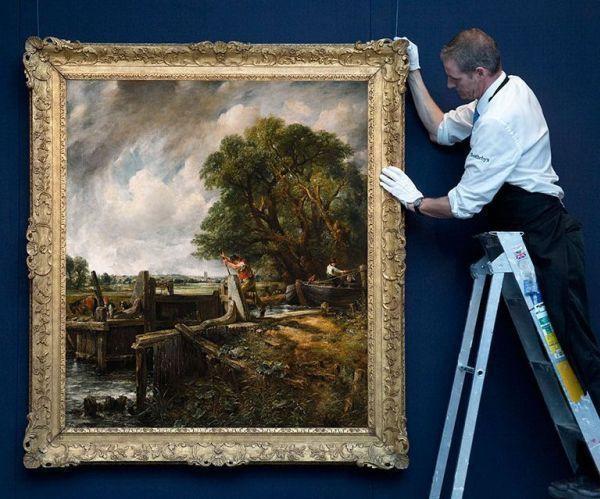 «Плотина» Констебла продана за 13,7 млн долларов