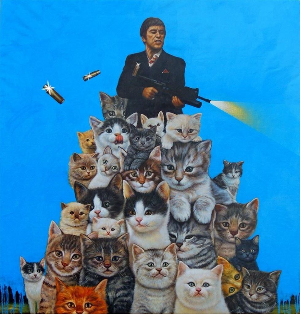 Кошкин день: 30 июля музеи устроили флэшмоб, хвастаясь своими котиками – нарисованными и живыми
