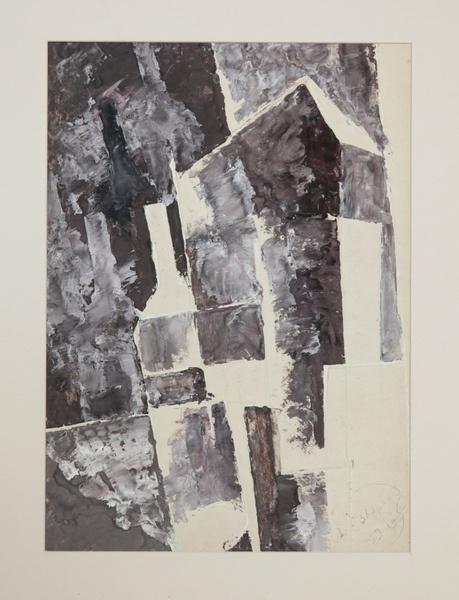 Анатолий Зверев.Супрематическая композиция. 1959