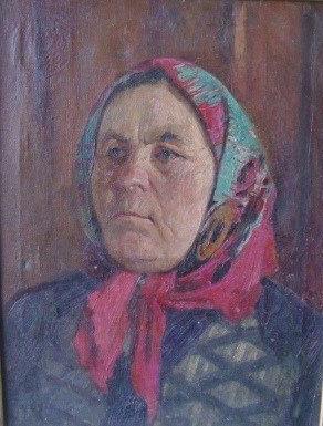 """Andrei Ivanovich Bozhko. """"Peasant Woman"""""""