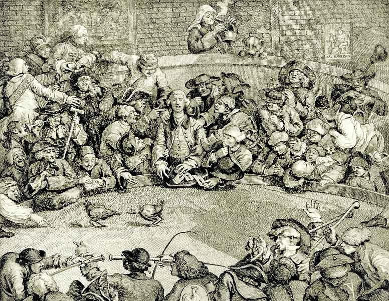 Уильям Хогарт. Петушиный бой