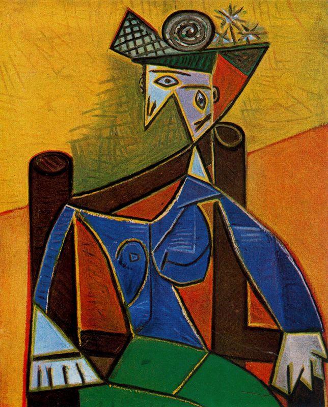 Пабло Пикассо. Стул