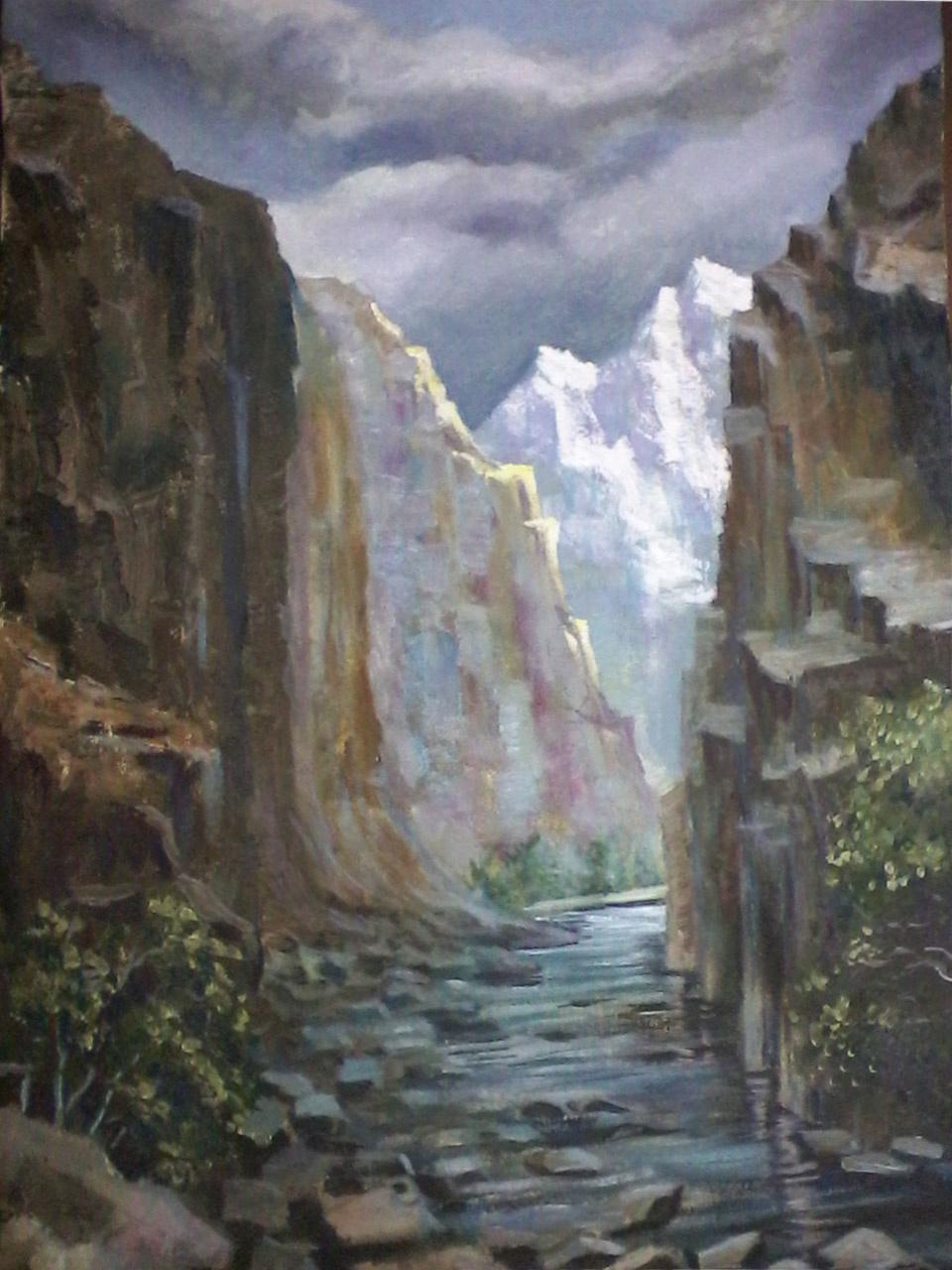 Olga Suncheleeva. Gorge
