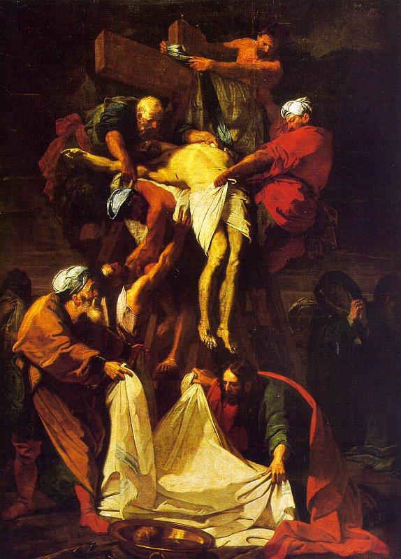 Жан-Баптист-Баптист-Баптист - Баптист Джоувенет. Крест