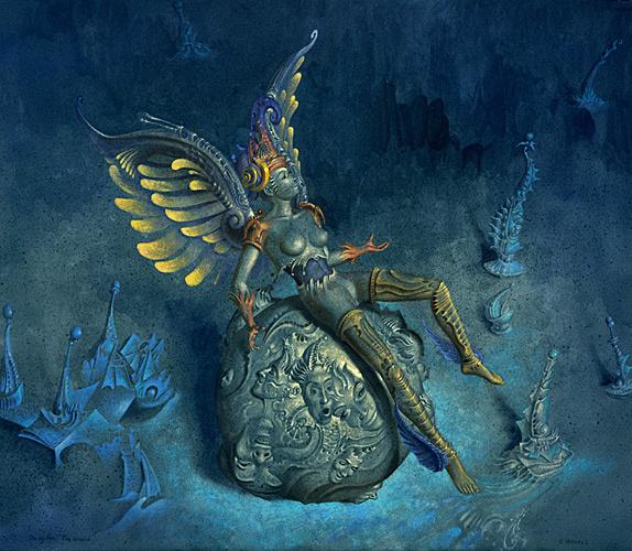 Гил Брювель. Золотые крылья