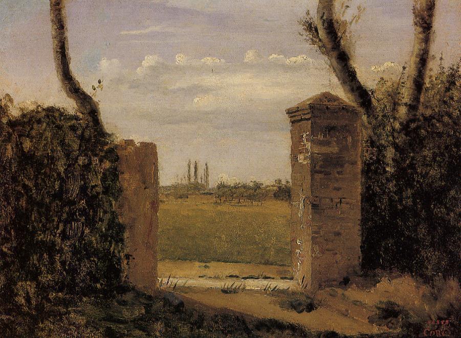 Камиль Коро. Ворота