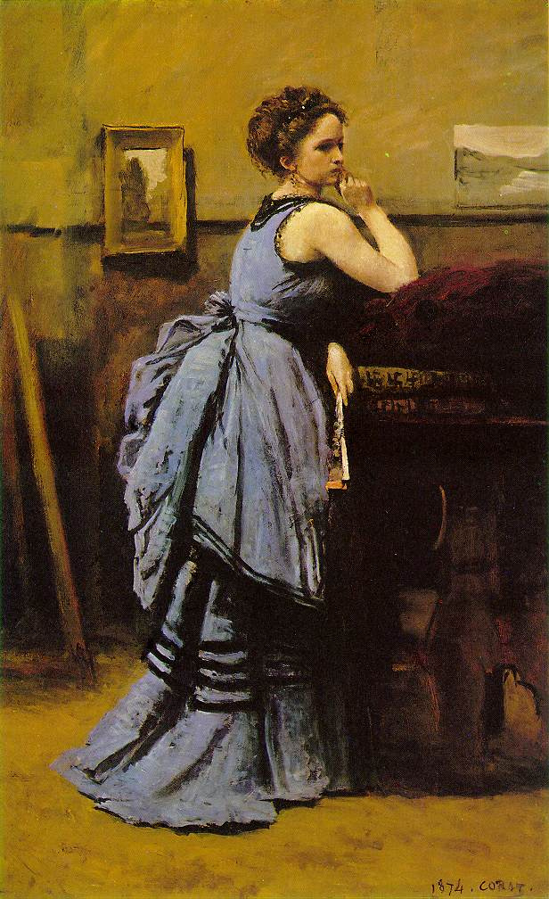 Камиль Коро. Дама в голубом