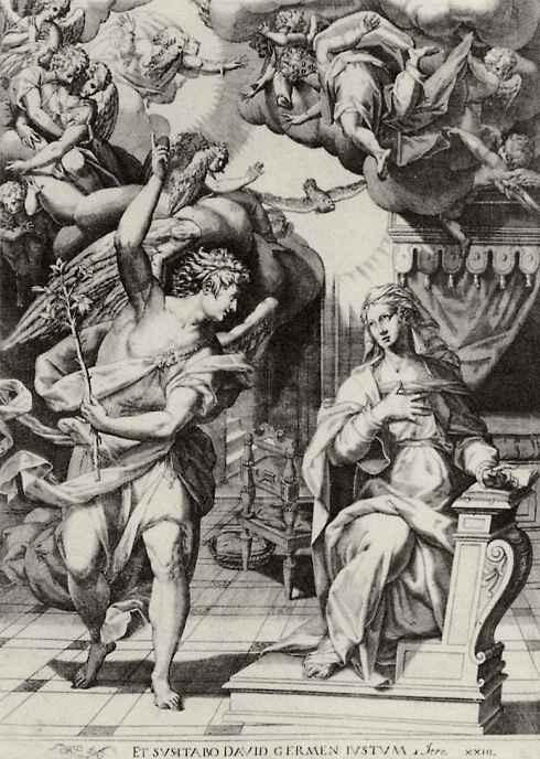 Доменико Тибальди. Благовещение