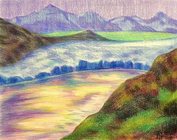 Larissa Lukaneva. Moon Valley