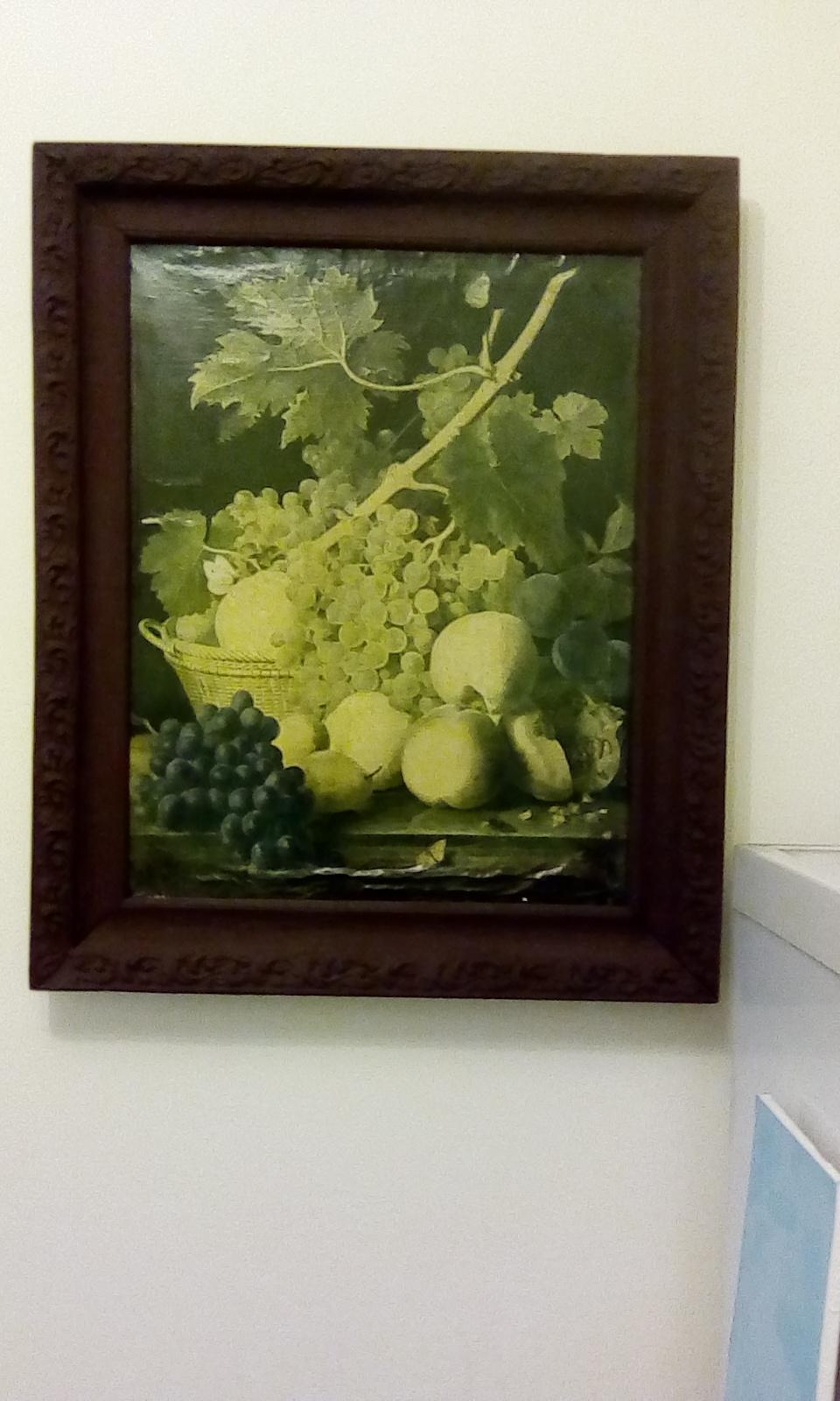 Unknown artist. Fruit basket