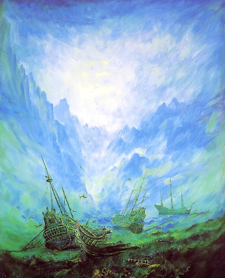 Луис Гуиллоу. Корабли