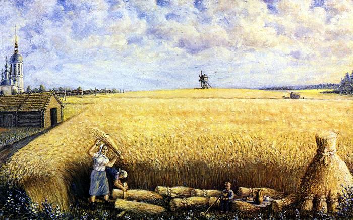 Nikolay Aleksandrovich Makarov. Harvest