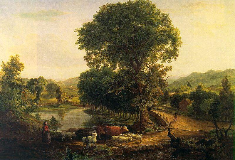 Джордж Иннесс. Старое дерево